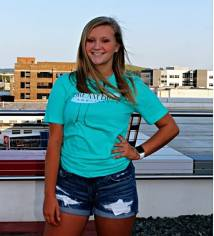 Introducing Ambassador Jayden. She is a senior at Anamosa HS and is involved in Show Choir and Chamber Choir.