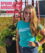Introducing Ambassador Natalie from Linn Mar. She is a senior and is involved in Cheer and tennis. This is her second year as an Ambassador with us.